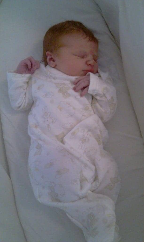 Baby LP - 2 Hours Old