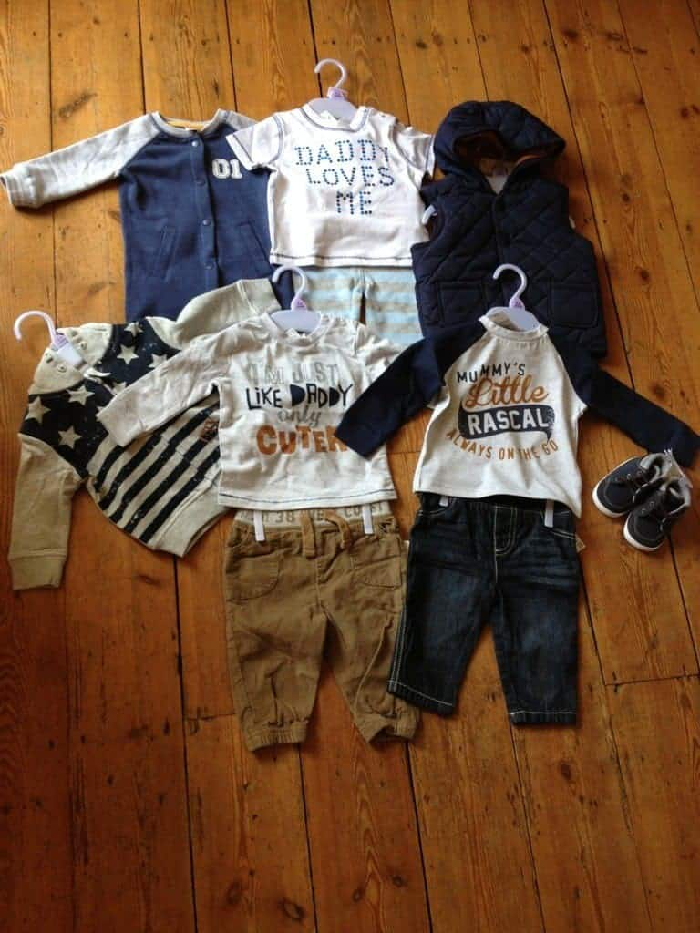 Tesco F&F Children's Clothing Review