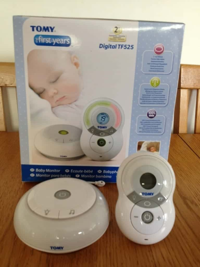 Tomy Digital Baby Monitor TF525 Review