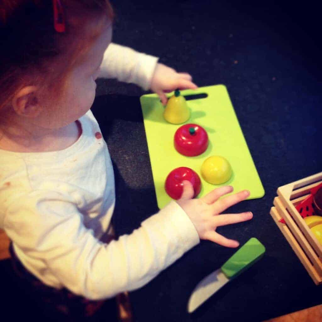 A Little Kitchen Helper – The Ordinary Moments