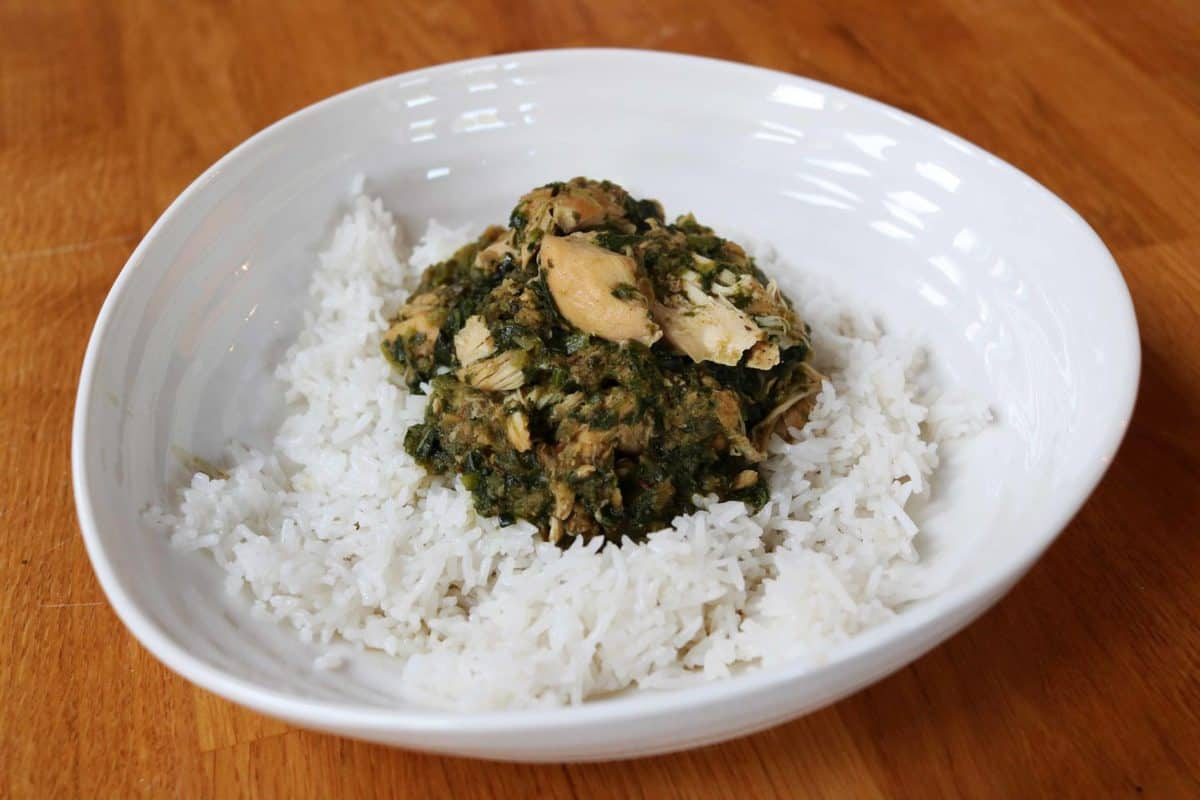 Chicken and Spinach Curry Slow Cooker Recipe