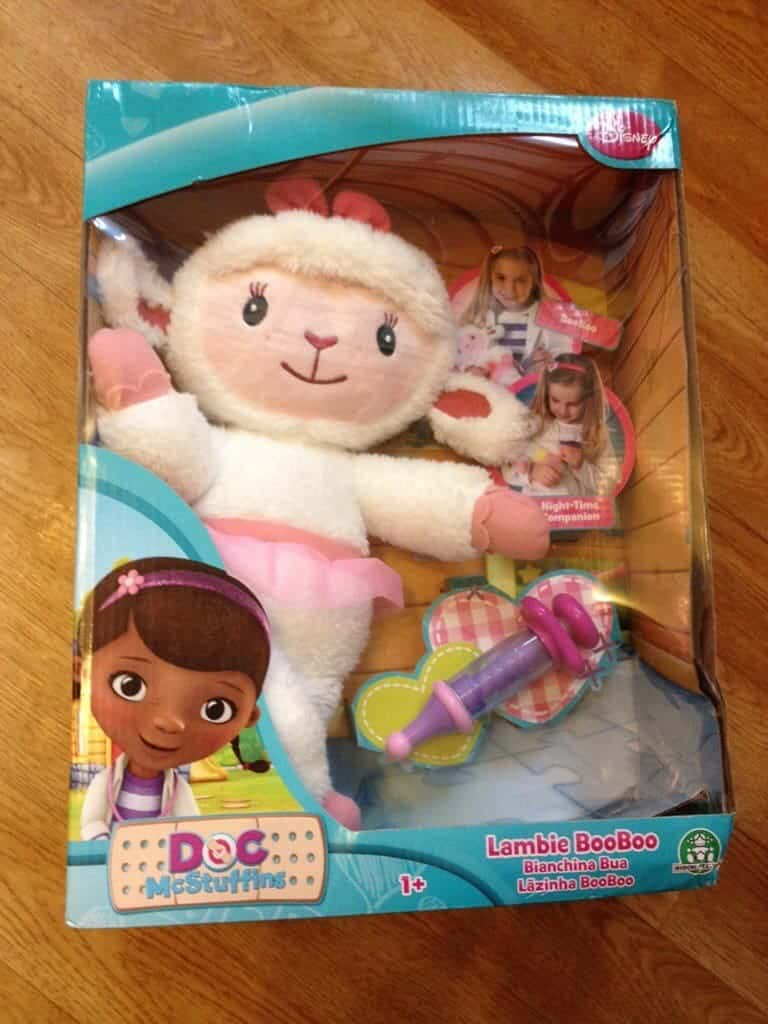 Doc McStuffins Lambie Boo Boo Toy