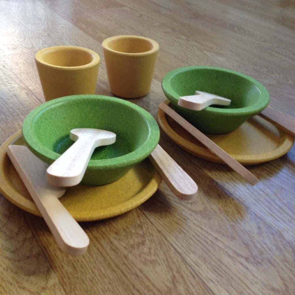 The Toadstool - Plan Toys - Tableware, Beehives & Balancing Cactus