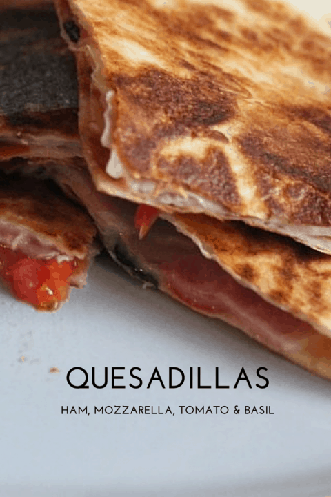 Recipe: Quesadillas