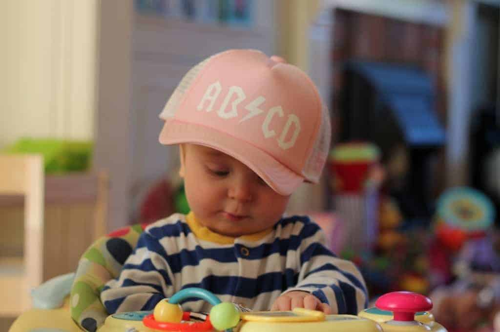 Little Fit ABCD Trucker Hat and Giveaway!