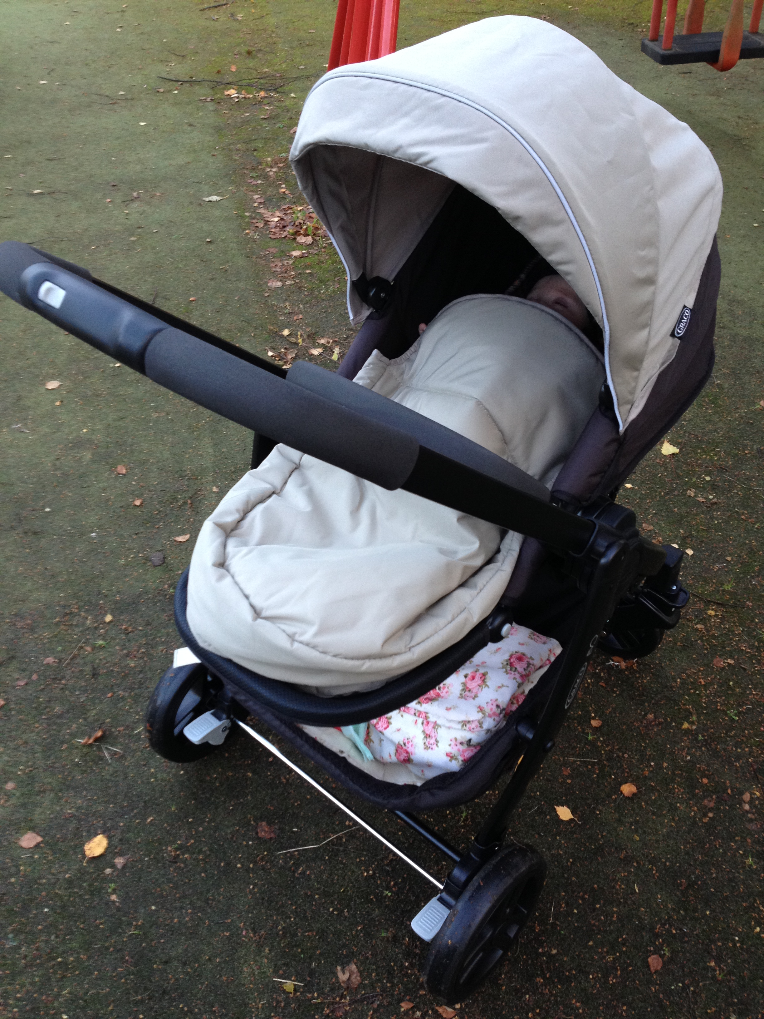 Review Graco Evo Stroller What The Redhead Said