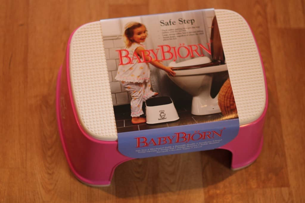 Review: BabyBjorn Safe Step and Toilet Trainer