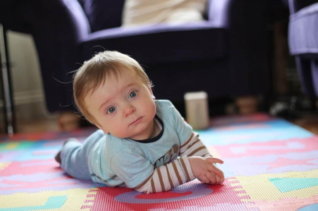 Crawling Baby!