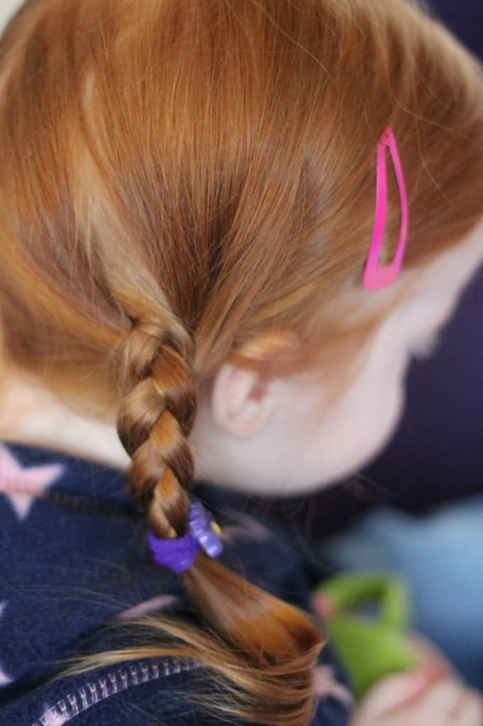 Long Haired Toddlers and What To Do With Them!