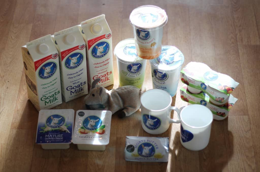 Review: St Helen's Farm Goats' Milk Products