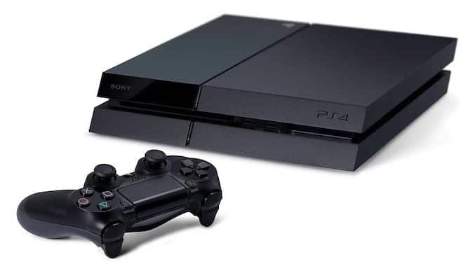 The top of Hubby's Wishlist - PS4!