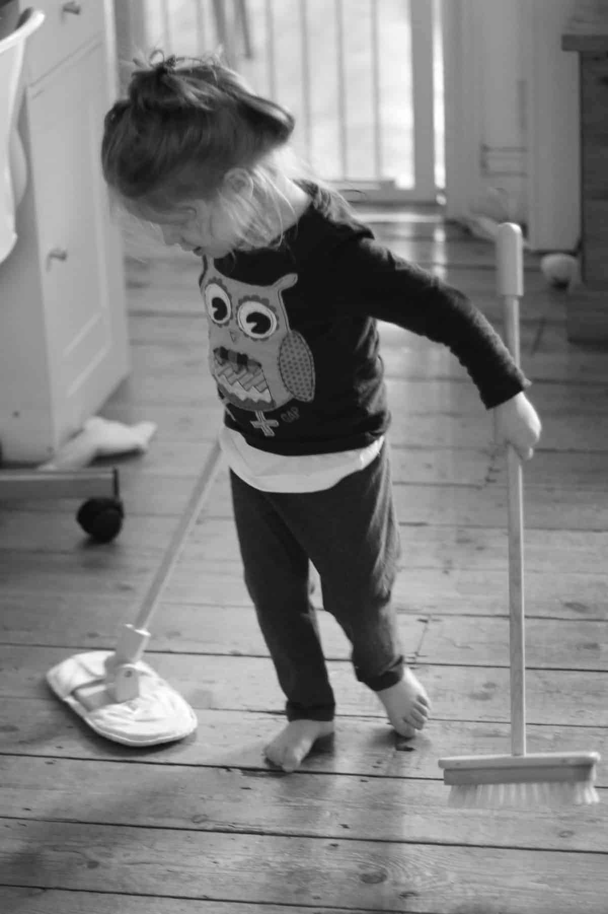 Sweeping {The Ordinary Moments}