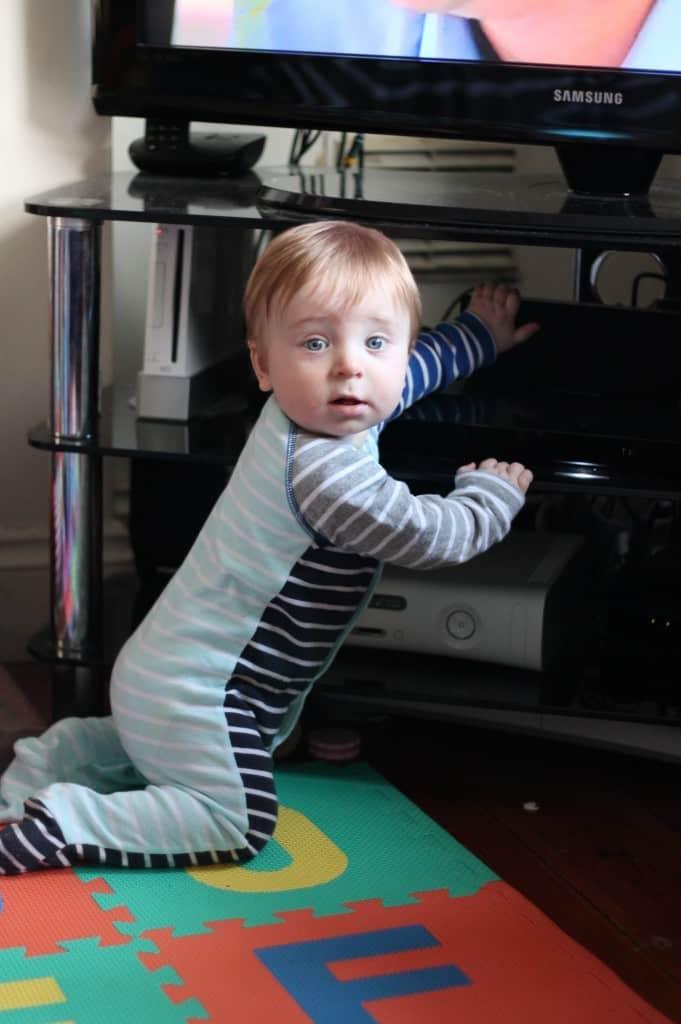 Little Man's Latest Milestone