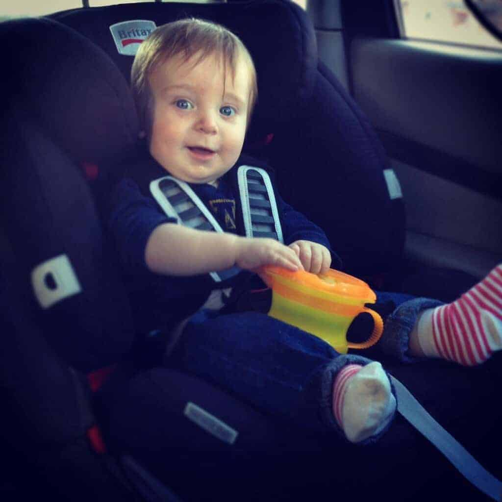 Little Man's Time For a New Car Seat