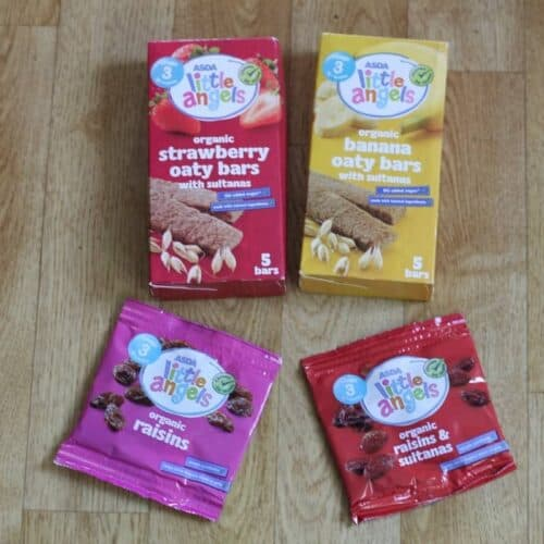 Little Angels Baby & Toddler Snacks at Asda