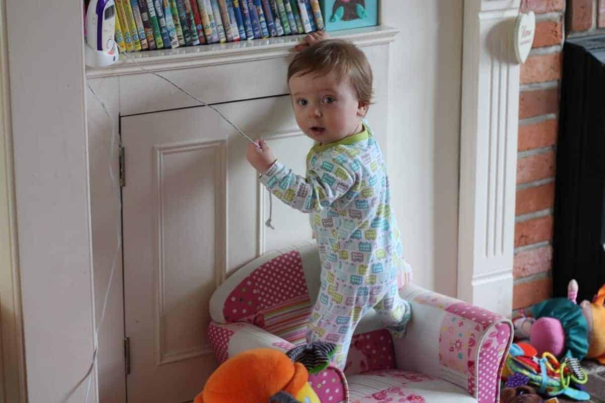 Little Climbing Boy!