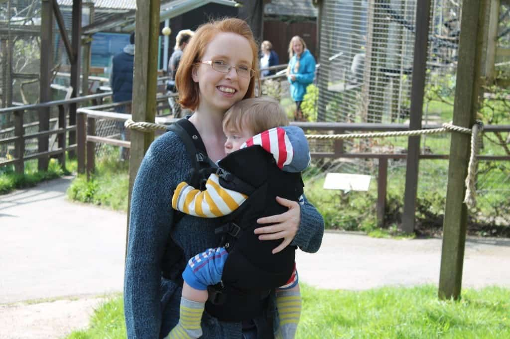 Review: Stokke MyCarrier Cool Baby Carrier