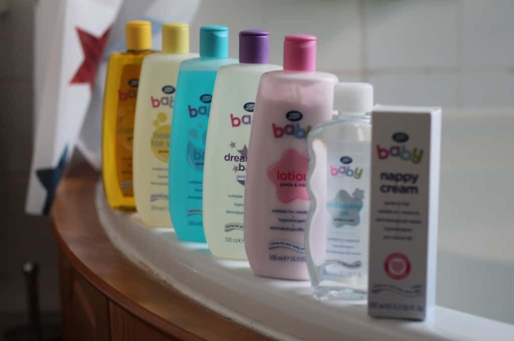 Review: Boots Baby Toiletries Range