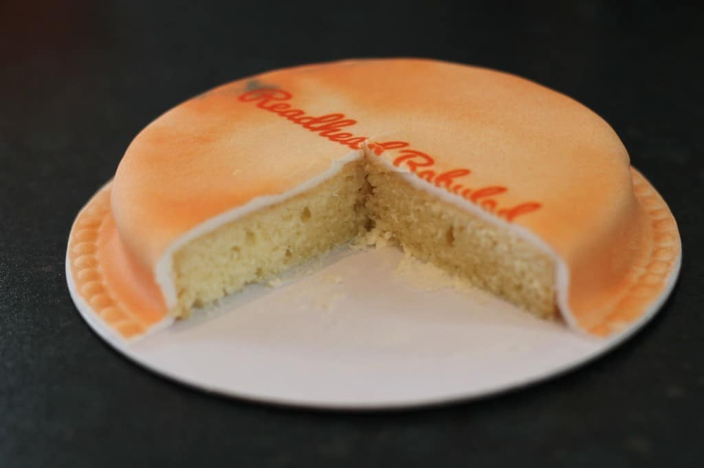 Review: Baker Days Letterbox Cake