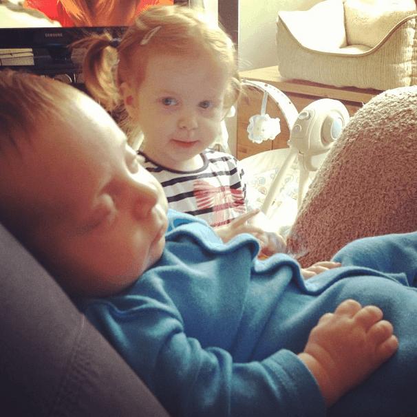 Having Two Babies is Hard