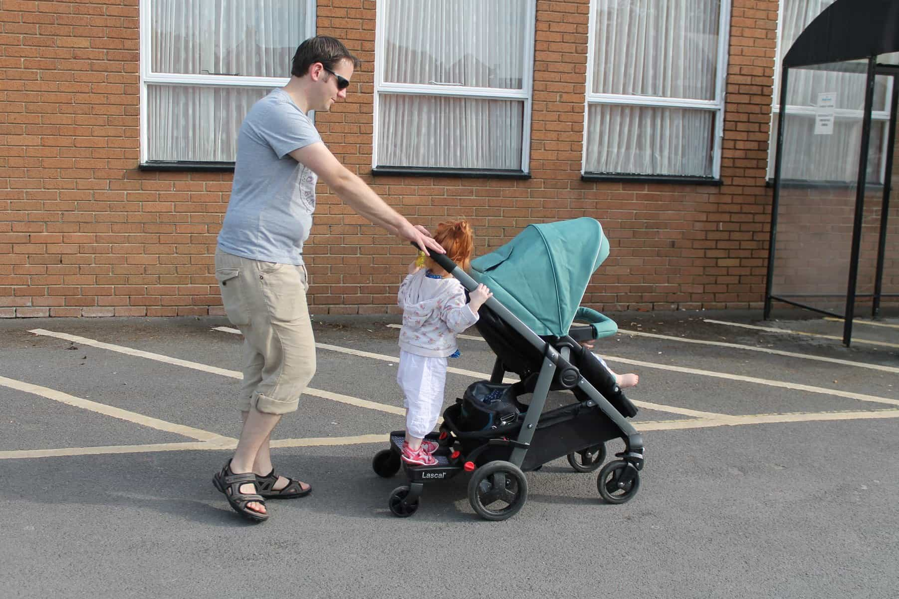 Review: Lascal Buggy Board Maxi