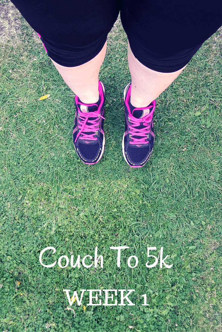 Couch to 5k - My First Week of Running