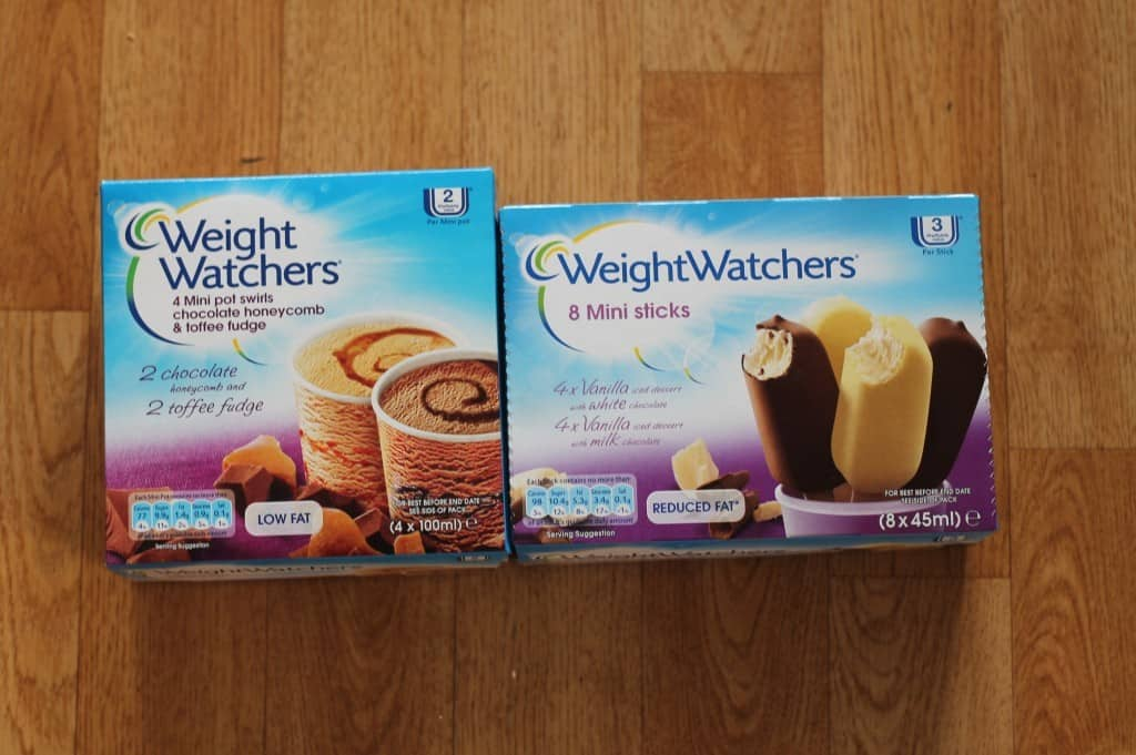 Review: Weight Watchers Frozen Desserts