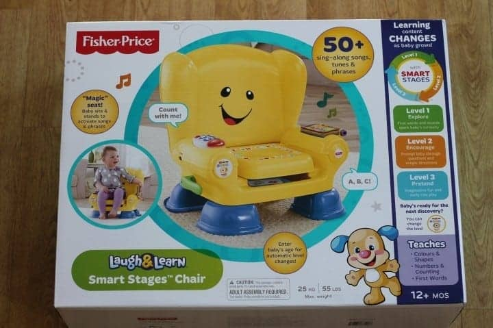 Review: Fisher Price Laugh & Learn Smart Stages Chair