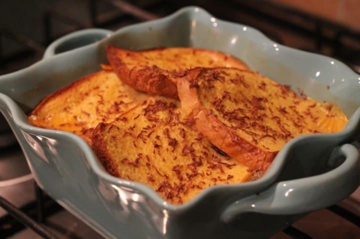 Cheats Brioche Bread and Butter Pudding Recipe