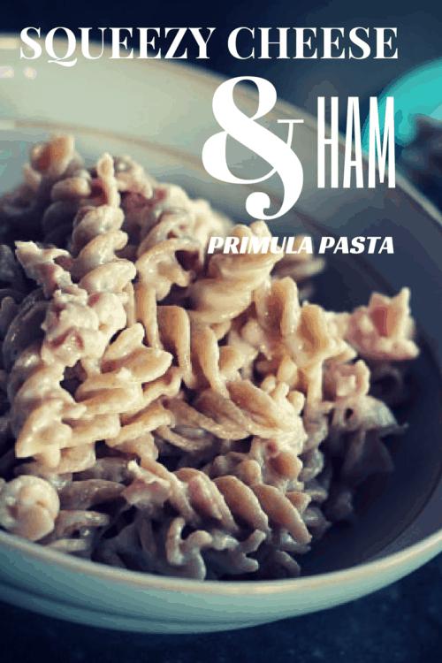 Squeezy Cheese & Ham Primula Pasta Recipe