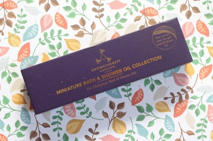 Review: Aromatherapy Associates Bath & Shower Oil Collection