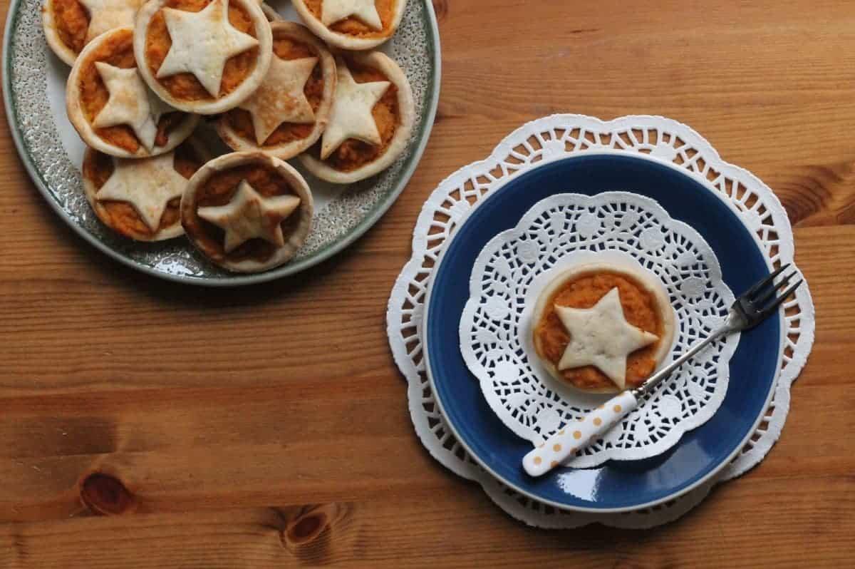 Pumpkin and Nutmeg Tarts