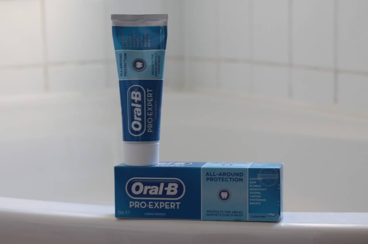 Review: Oral-B Pro-Expert All-Around Protection Toothpaste