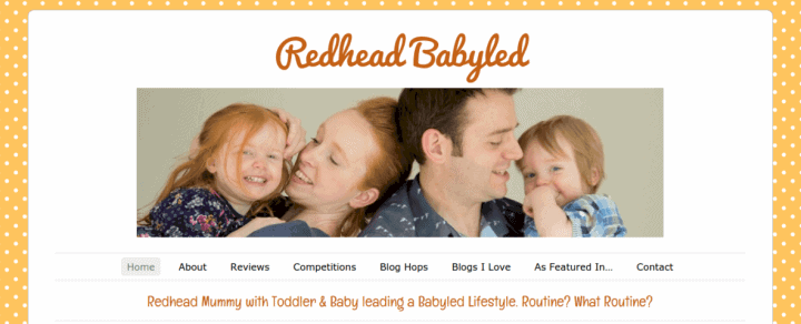 Today is the last day… of Redhead Babyled