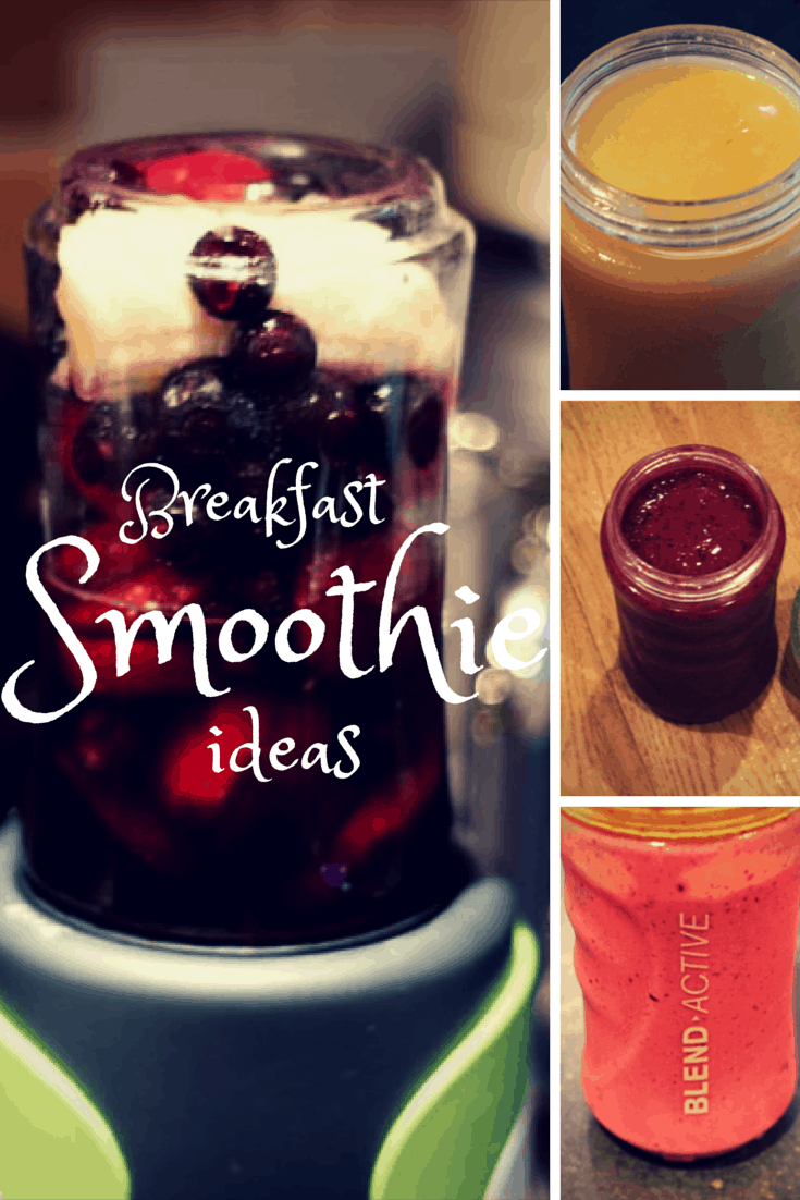 Starting off the day the right way - Breakfast Smoothie Recipes