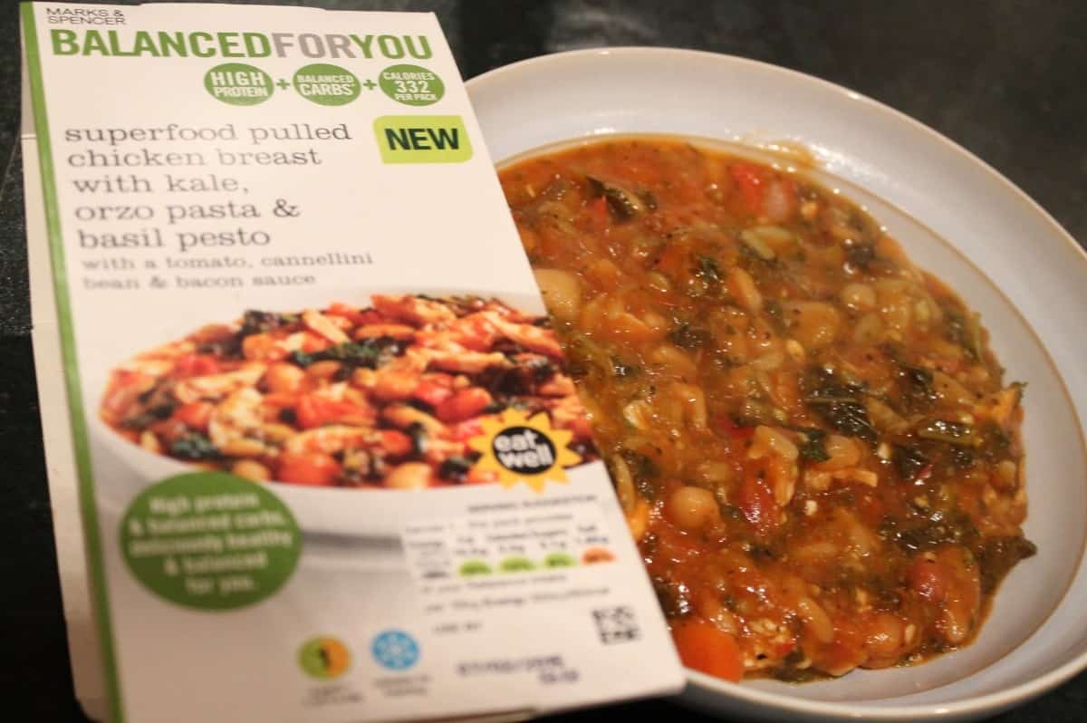 Review: Eating Healthier with Marks and Spencer