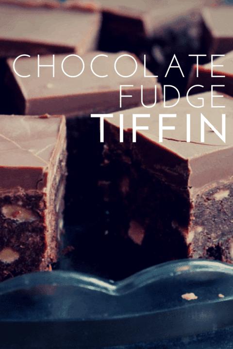 Chocolate Fudge Tiffin Recipe
