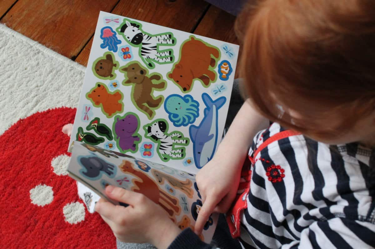 Review: My Little World Animals Jigsaw and Sticker Book