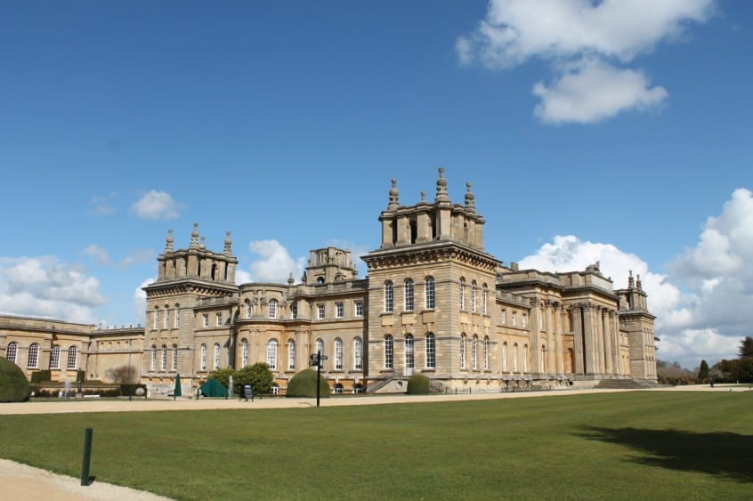Review blenheim palace what the redhead said for Blenheim builders