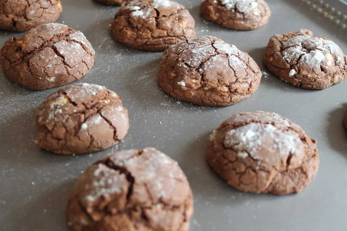 Triple Chocolate Truffle Cookies Recipe {Baking with Dr. Oetker}