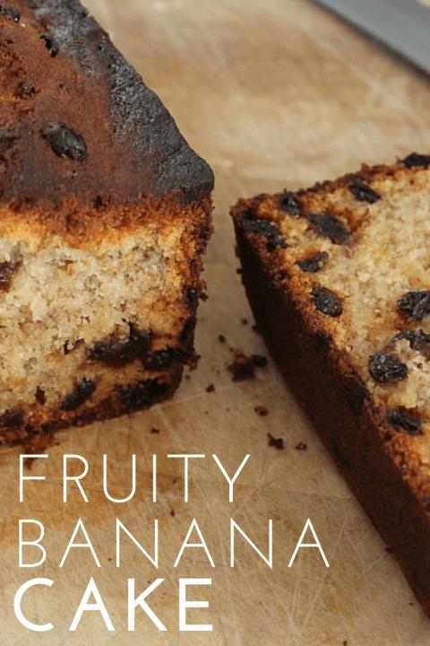 how to make banana cake ingredients