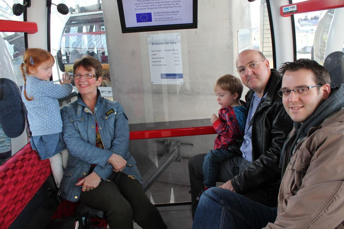 Review: Emirates Air Line London Cable Car