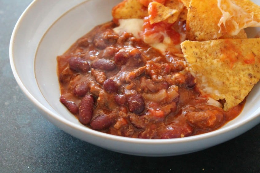 Slow Cooker Beef Chilli Recipe