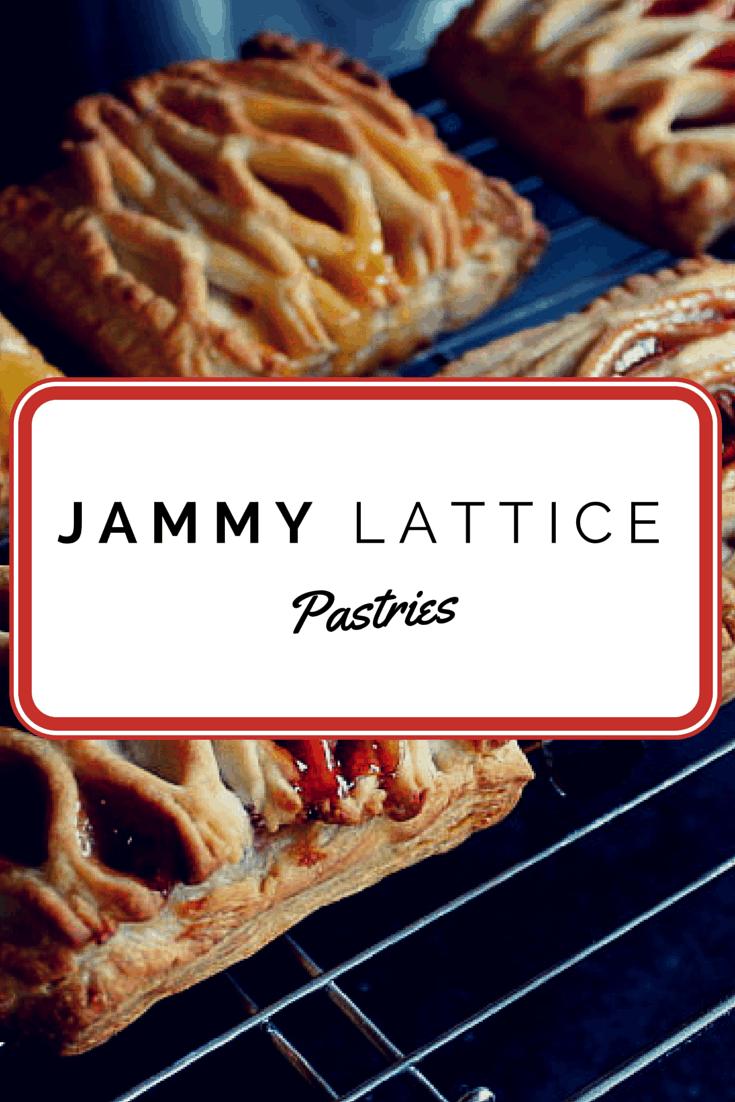 Jam Lattice Pastries