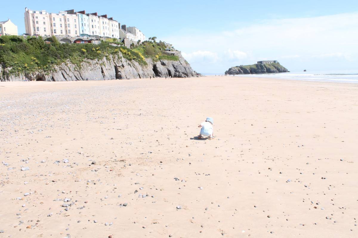 A Day at Tenby South Beach