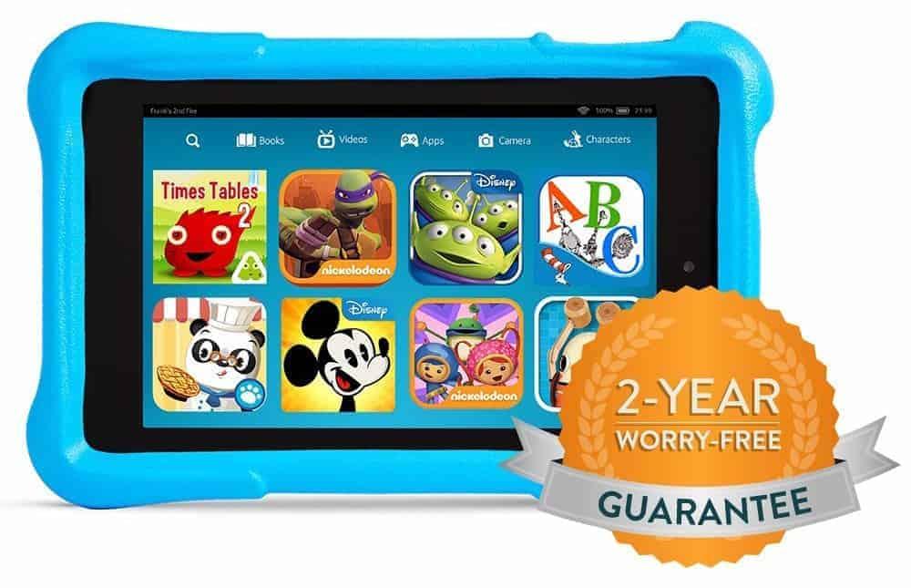Fire HD Kids Edition_Worry Free Blue