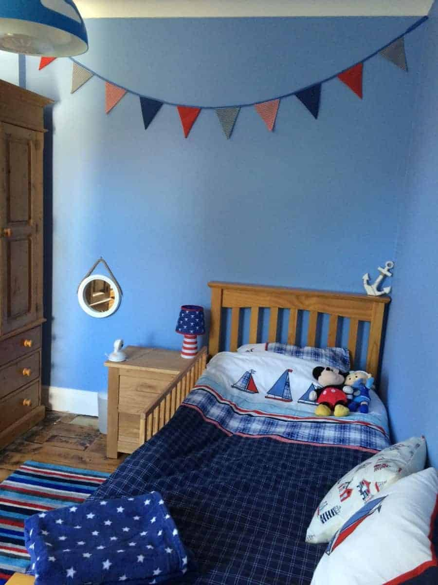 Little Man's Transition of Cot to Bed