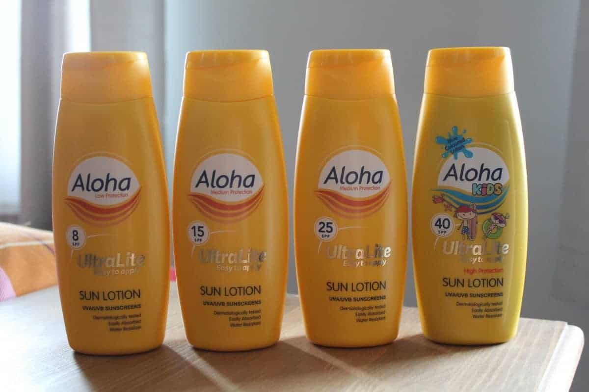 Review: Aloha UltraLite Sun Cream