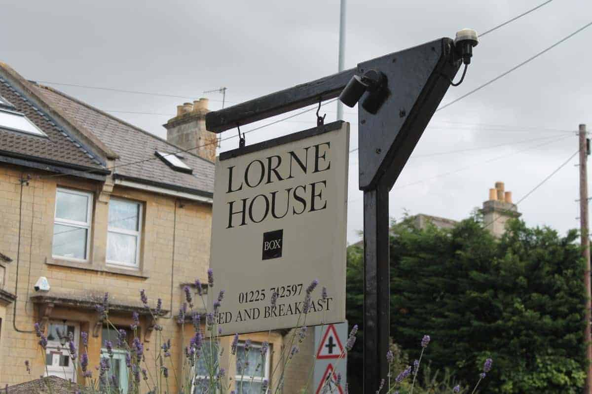 Review: Lorne House Bed and Breakfast - Bath, Wiltshire
