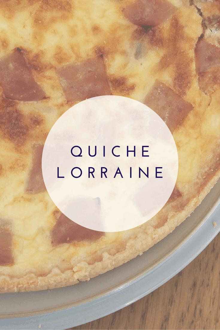 Quiche Lorraine What The Redhead Said